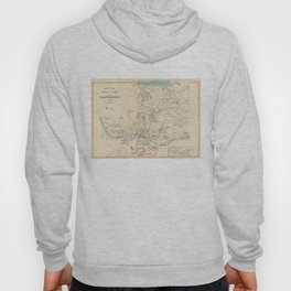 Vintage Map of Manchester NH (1892) Hoody