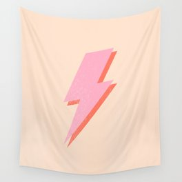 Thunderbolt: The Peach Edition Wall Tapestry