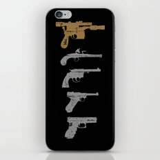 A long time ago with a blaster far, far away... iPhone & iPod Skin