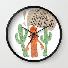 IM STILL DIFFERENT! Wall Clock