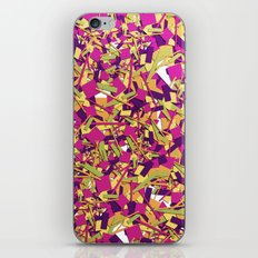 Color pieces iPhone & iPod Skin