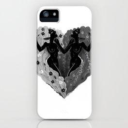 Self Love B/W iPhone Case