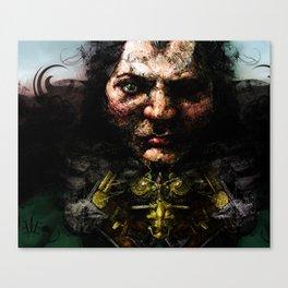 Broken Nose Canvas Print