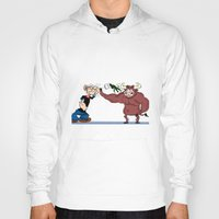 """popeye Hoodies featuring """"Popeye""""'s taking out his nerves by Dano77"""