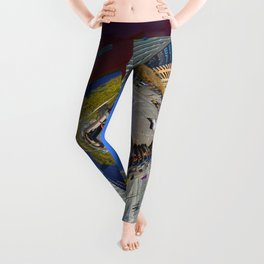 blue sky dreamin Leggings