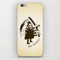 Non piangere iPhone & iPod Skin