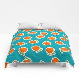 Zesty Orange Comforters