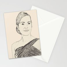 Kate Winslet Portrait Stationery Cards