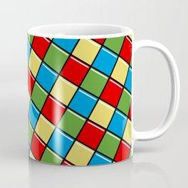 multicolor squares pattern Coffee Mug