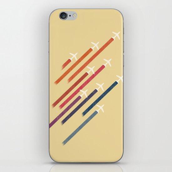 Aerial display (ver.2) iPhone & iPod Skin