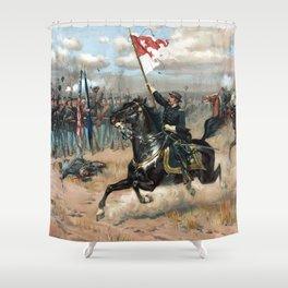 Sheridan's Ride -- American Civil War Shower Curtain