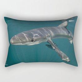 It's Sharky Time Rectangular Pillow