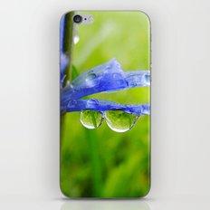 Drops of Blue iPhone & iPod Skin