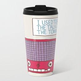 Radio Static Metal Travel Mug