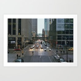 Minneapolis Streets Art Print