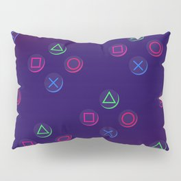 Game On! PS4 controller buttons Pillow Sham