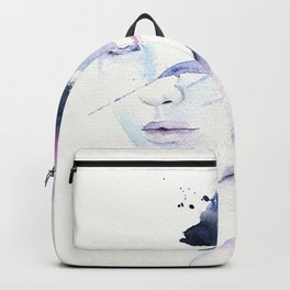 The eye of a storm Backpack