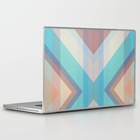 grid Laptop & iPad Skins featuring Grid by brokkoletti