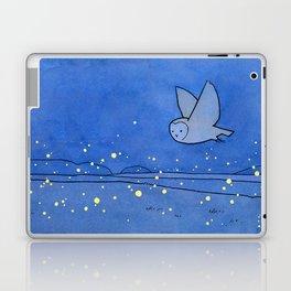 Owl and Fireflies Laptop & iPad Skin