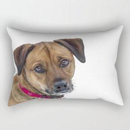 Puppy Dog Eyes Rectangular Pillow