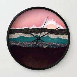 Champagne Sky Wall Clock