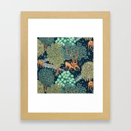"William Morris ""The Brook"" Framed Art Print"