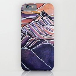 Peaks to the East, Revelstoke iPhone Case