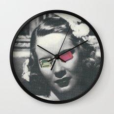 Psychedelic glasses II Wall Clock