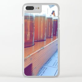 Tip It Back Clear iPhone Case