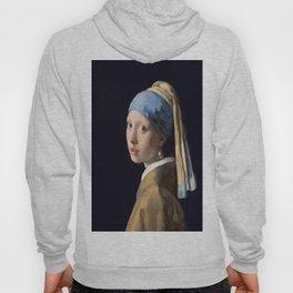 Johannes Vermeer's Girl With a Pearl Earring Hoody