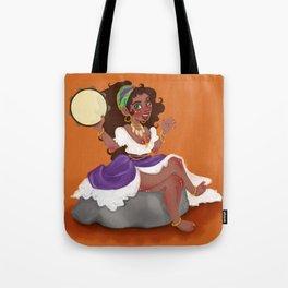 Gypsy Girl Tote Bag