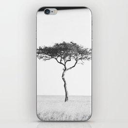 black&white::kenya iPhone Skin