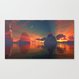 The One Light Canvas Print