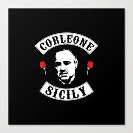 Vito Corleone - The Godfather Canvas Print