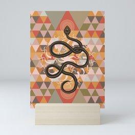 Serpent Spell #snake#art print Mini Art Print