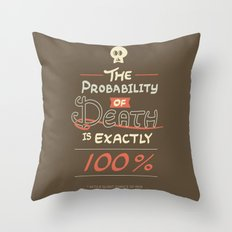 Morbid Reality #01 Throw Pillow