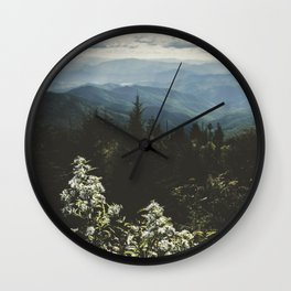 Smoky Mountains - Nature Photography Wall Clock