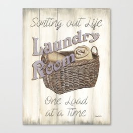 Vintage Laundry Room 2 Canvas Print