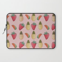watermelon, pineapple, and Strawberry  Laptop Sleeve