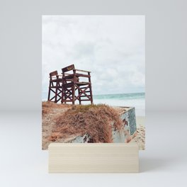 Beach Seats Mini Art Print
