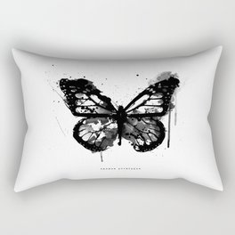 Black Monarch Rectangular Pillow