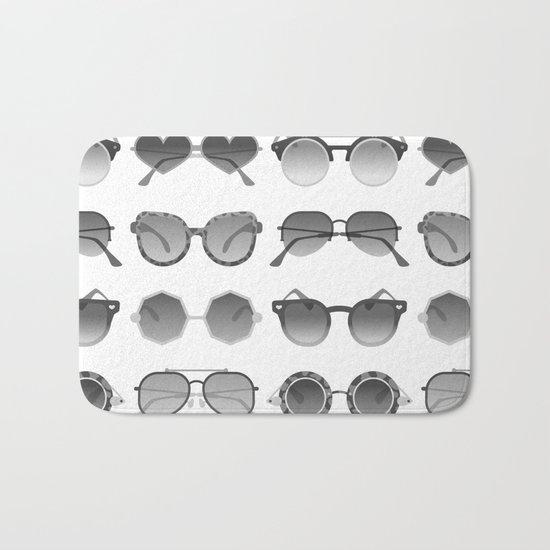 Sunglasses Collection – Black Palette Bath Mat