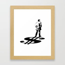 Cash Framed Art Print