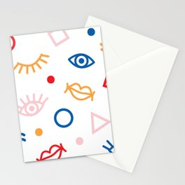 Primary Icons Stationery Cards