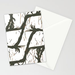 Abstract L1 Stationery Cards