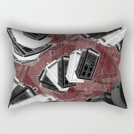 Wibbly Wobbly (Timey Wimey) Rectangular Pillow