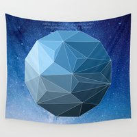 physics Wall Tapestries featuring Continuum Space by yuvalaltman