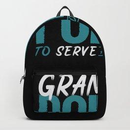Grammar Police Teacher Backpack