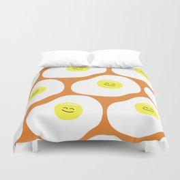 Fried Eggs Pattern Duvet Cover