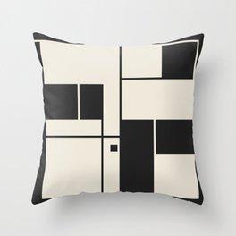 De Stijl / Bauhaus series 1 Throw Pillow